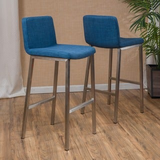 Vasos Fabric Barstool (Set of 2) by Christopher Knight Home