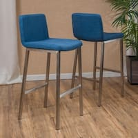 Vasos 30-inch Fabric Barstool (Set of 2) by Christopher Knight Home