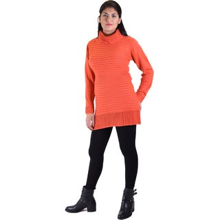 Dinamit Women's Long Sleeve Tunic Sweater