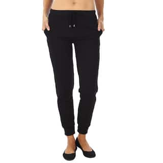 Dinamit Women's Quilted Joggers Pants|https://ak1.ostkcdn.com/images/products/11102393/P18106992.jpg?impolicy=medium