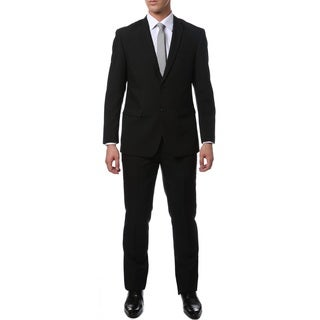 Paul Lorenzo Men's 2-Piece Slim Fit Suit