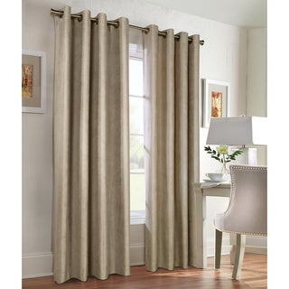Thermalogic Thermalplus Navar Blackout Suede Curtain Panel