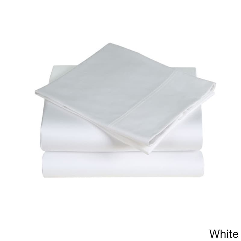 Affluence 300 Thread Count Sheet Set (White - California ...