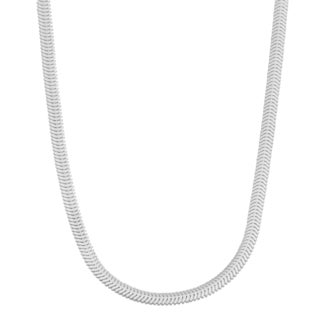 Argento Italia Sterling Silver 2.5-mm Snake Chain Necklace (18 or 20 inches)