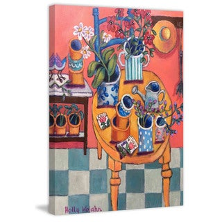 Marmont Hill - A Happy Garden Room Painting Print on Canvas