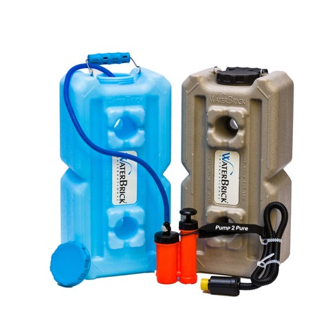 WaterBrick and Seychelle Pump 2 Pure Pocket Pump Water Filtration System