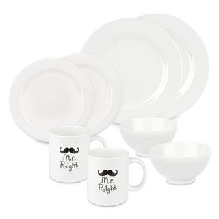 Waechtersbach Mr and Mr Right Dinnerware Set