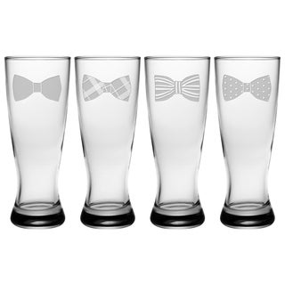 Bowties Grand Pilsner, 20-ounce (Set of 4)