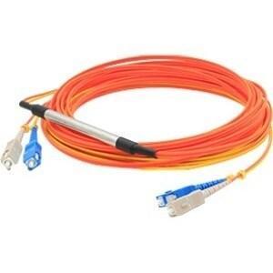 AddOn 1m Cisco CAB-MCP50-SC Compatible SC (Male) to SC (Male) Orange