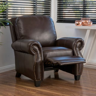 Christopher Knight Home Torreon PU Leather Recliner Club Chair