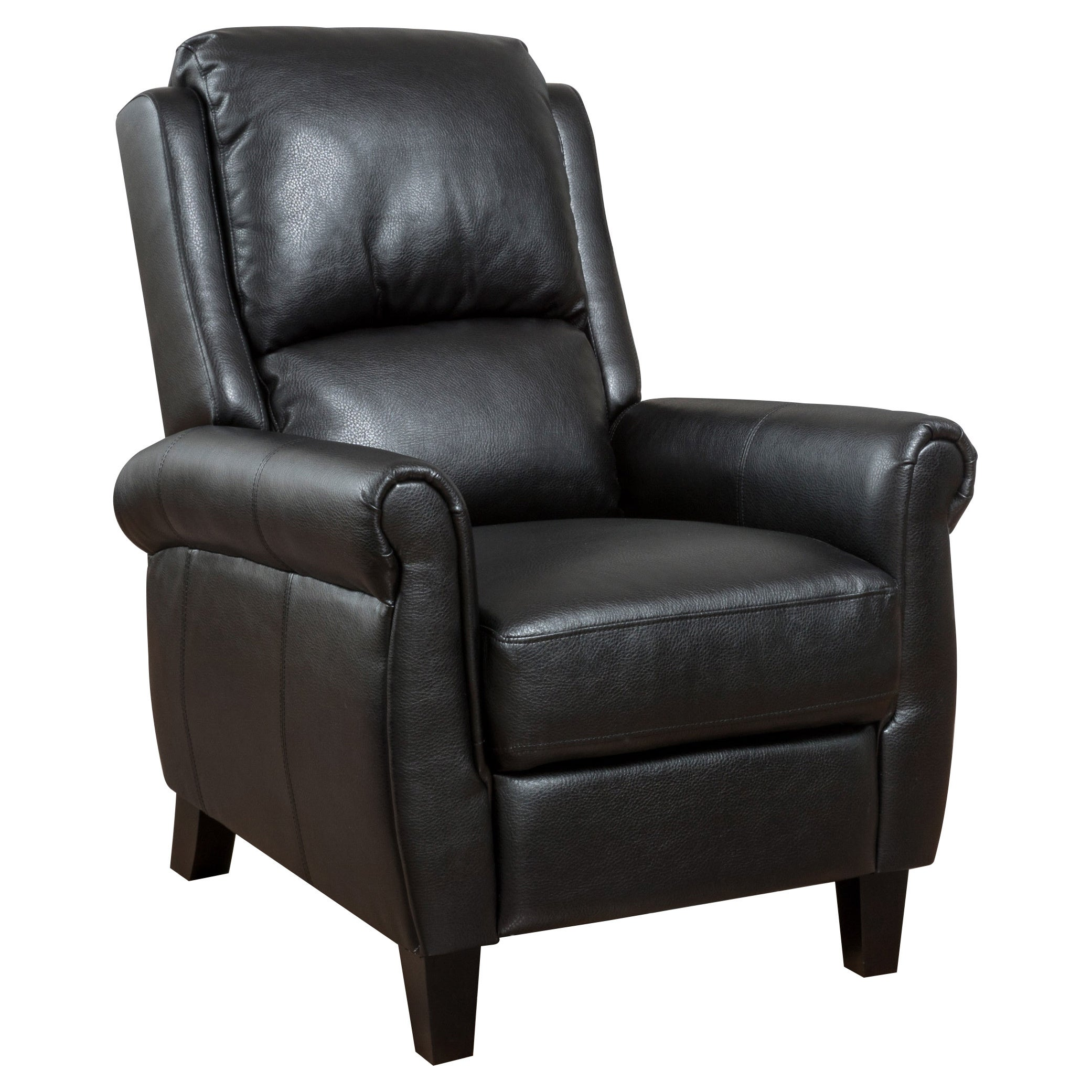 Groovy Haddan Pu Leather Recliner Club Chair By Christopher Knight Home Pabps2019 Chair Design Images Pabps2019Com