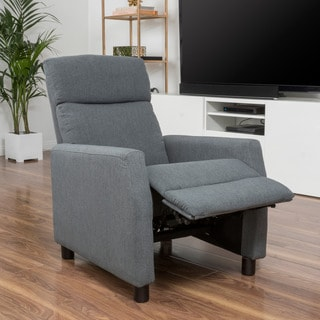 Tabahri Fabric Recliner Club Chair by Christopher Knight Home
