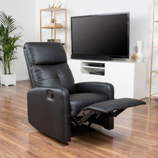 Christopher Knight Home Samedi PU Leather Recliner Club Chair