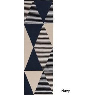 Dwell : Hand Woven Wilson Wool Rug (2'6 x 8')