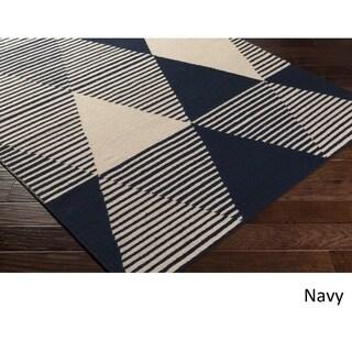 Hand Woven Wilson Wool Rug (8' x 10')