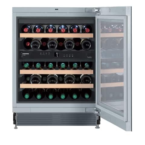 Liebherr WU 3400 Vinidor 24-inch Wine Cabinet with Two Temperature Zone