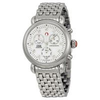 Michele Women's MWW03M000120 'CSX 36' Chronograph Diamond Stainless Steel Watch