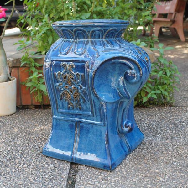 Wondrous Shop International Caravan Contemporary Elephant Ceramic Andrewgaddart Wooden Chair Designs For Living Room Andrewgaddartcom