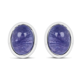 Olivia Leone Sterling Silver 2 1/2ct TGW Genuine Tanzanite Earrings