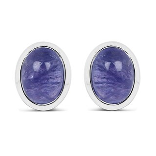 Olivia Leone Sterling Silver 2 1/2ct TGW Genuine Tanzanite Earrings