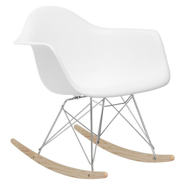 Poly and Bark Rocker Lounge Chair