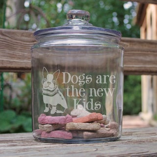 Dogs Are the New Kids Half Gallon Jar