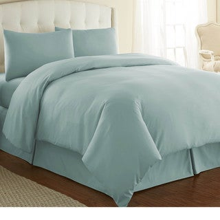 Southshore Fine Linens Oversized 3-piece Full/ Queen Size Duvet Cover Set in Off-White (As Is Item)
