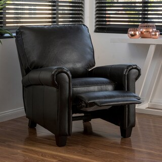 Dallon PU Leather Recliner Club Chair by Christopher Knight Home