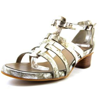 Vaneli Women's 'Kezia' Leather Sandals