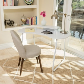 Adysen Melamine Computer Desk by Christopher Knight Home