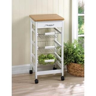 Hibiscus 3-shelf Kitchen Cart
