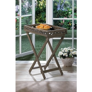 Designed Cutout Tray Table