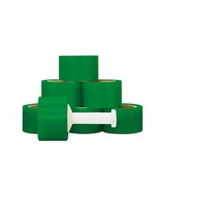 Narrow Banding 3 -inch 80 Gauge 1000 Ft Green Stretch Wrap Film 36 Rolls