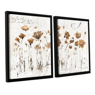 ArtWall Lisa Audit's Abstract Balance VI, 2 Piece Floater Framed Canvas Set