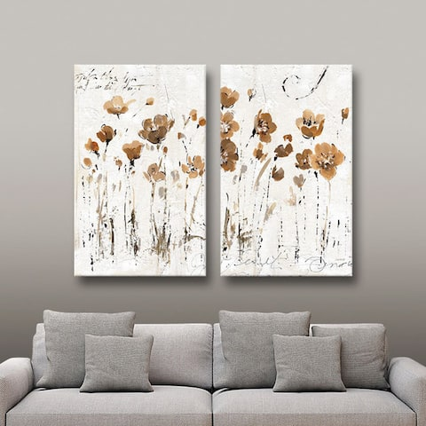 ArtWall Lisa Audit's Abstract Balance VI, 2 Piece Gallery Wrapped Canvas Set