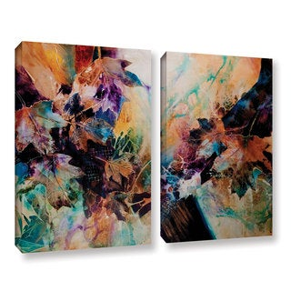 ArtWall Trish Mckinney's Beckoning, 2 Piece Gallery Wrapped Canvas Set