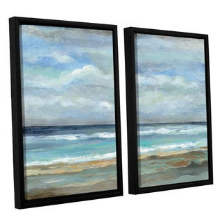 ArtWall Silvia Vassileva's Seashore, 2 Piece Floater Framed Canvas Set