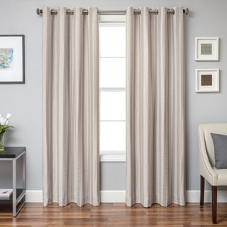 Softline Campania Chevron Grommet Top Curtain Panel