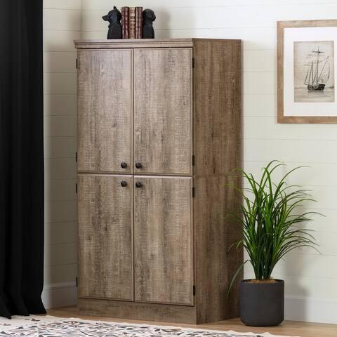 South Shore Morgan Storage Cabinet - 4-Door