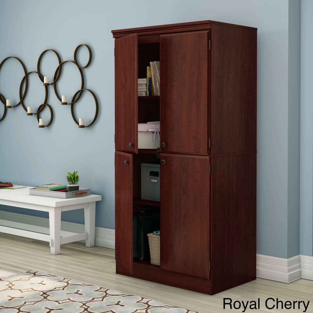Merveilleux South Shore Morgan Storage Cabinet (4 Options Available)