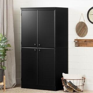 South Shore Morgan Storage Cabinet (Option: White - pure black)