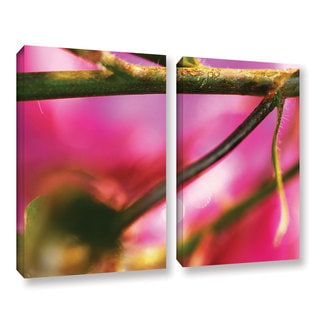 ArtWall Sydney Schardt's Summer Dew, 2 Piece Gallery Wrapped Canvas Set