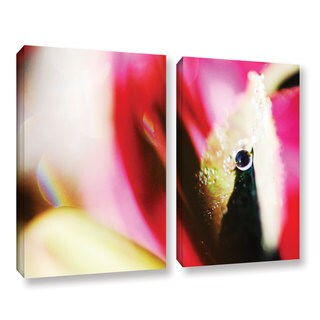 ArtWall Sydney Schardt's Sentinel, 2 Piece Gallery Wrapped Canvas Set