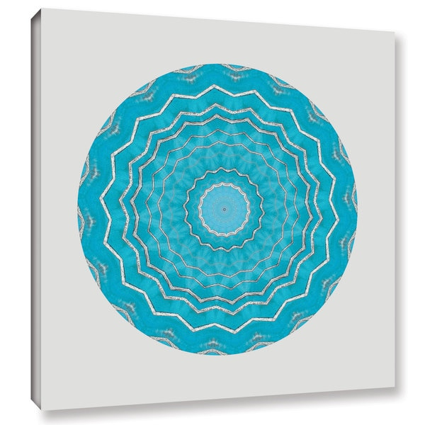 ArtWall Herb Dickinson's Circle Of Love I, Gallery Wrapped Canvas