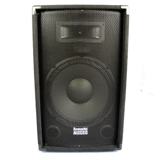 Acoustic Audio DR12 Pro 12-inch Speaker PA DJ Karaoke Band 600 Watts 2 Way