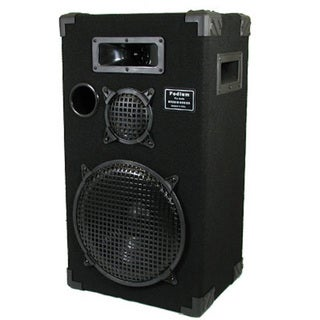 Podium Pro E1200C Studio Speaker 12-inch Three Way Pro Audio Monitor for PA DJ Home or Karaoke