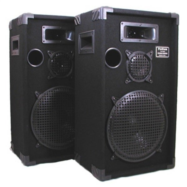 speakers pro studio dj way audio podium monitor karaoke pa inch speaker pair three sound pr professional amazon musical floor