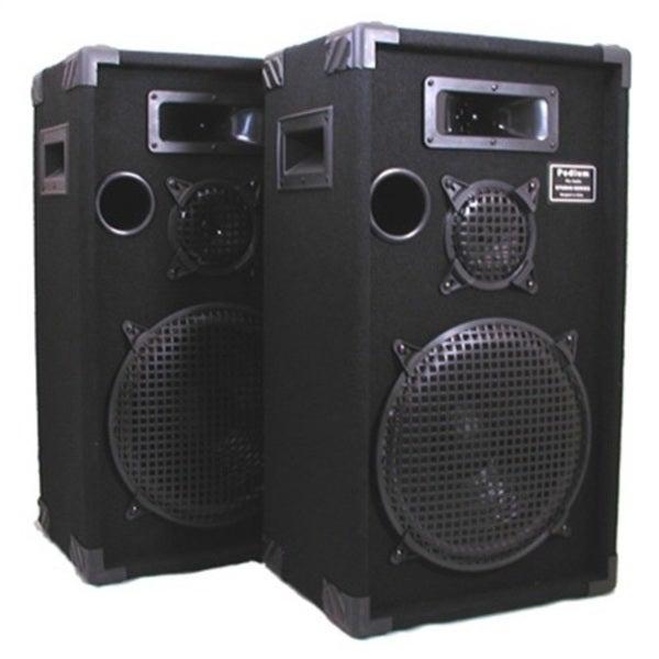 speakers pro studio dj way audio podium monitor karaoke pa inch speaker pair three monitors sound professional musical pr amazon