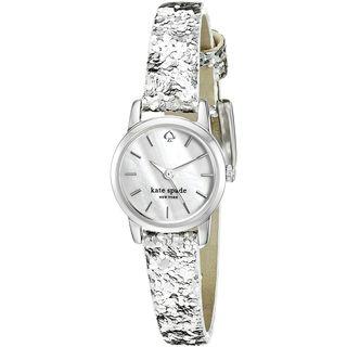 Kate Spade Women's KSW1008 'Tiny Metro' Leather Watch