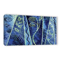 ArtWall Herb Dickinson's Abstract 417, Gallery Wrapped Canvas